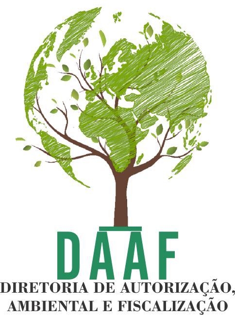 Logotipo Diretoria de autorização ambiental e fiscalização