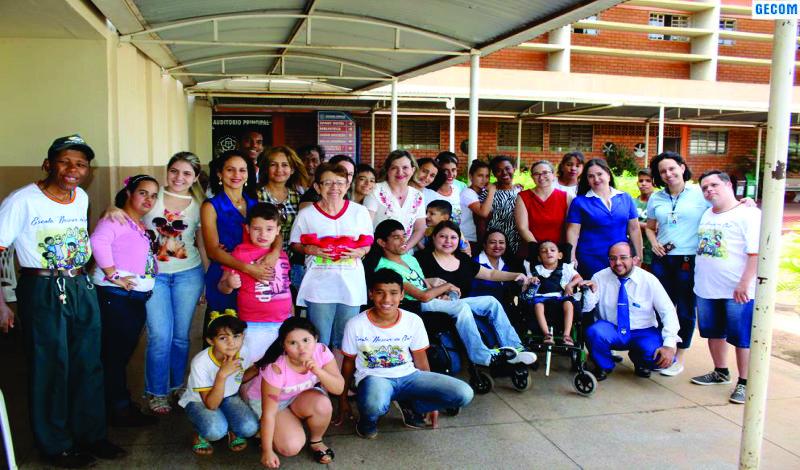 Imagem destaque notícia COM VISITA À SEDE DA ULBRA, APAE ENCERRA ATIVIDADES DA SEMANA DA PESSOA COM DEFICIÊNCIA