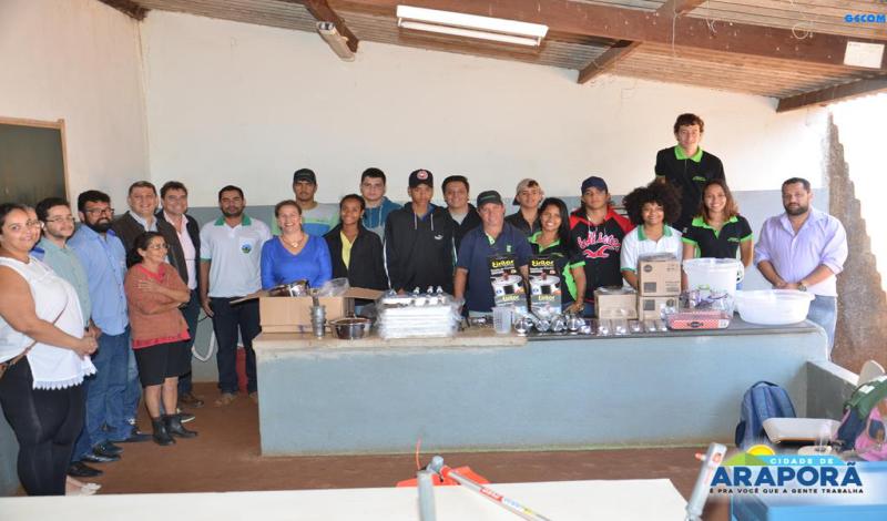 Imagem destaque notícia Usina doa R$ 30 mil em equipamentos para Escola Técnica
