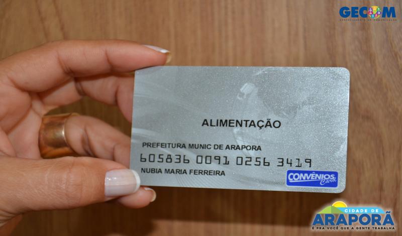 Imagem destaque notícia Prefeitura fará entrega de Cartão Alimentação aos servidores de Araporã