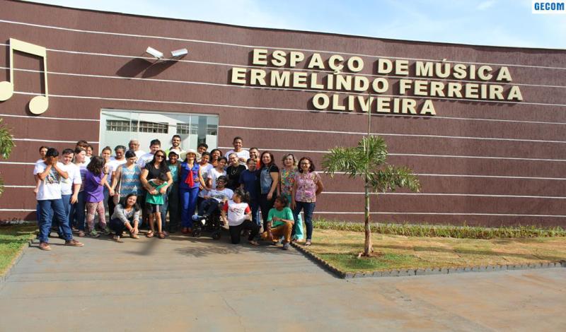 Imagem destaque notícia ESPAÇO DE MÚSICA ERMELINDO FERREIRA OLIVEIRA INAUGURA NOVA FASE PARA PROMOVER A PROFISSIONALIZAÇÃO DE MÚSICOS