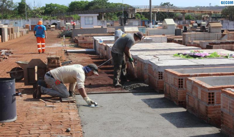 Imagem destaque notícia PREFEITURA INICIA REESTRUTURAÇÃO COMPLETA DO CEMITÉRIO MUNICIPAL