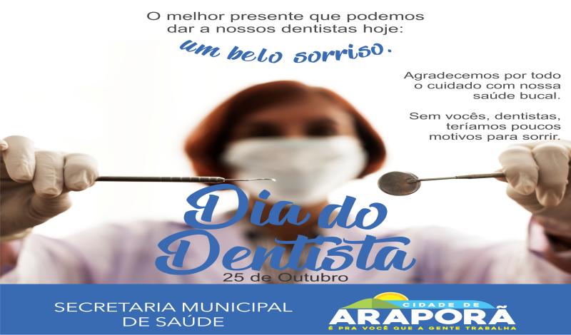 Imagem destaque notícia 25 DE OUTUBRO - DIA DO DENTISTA