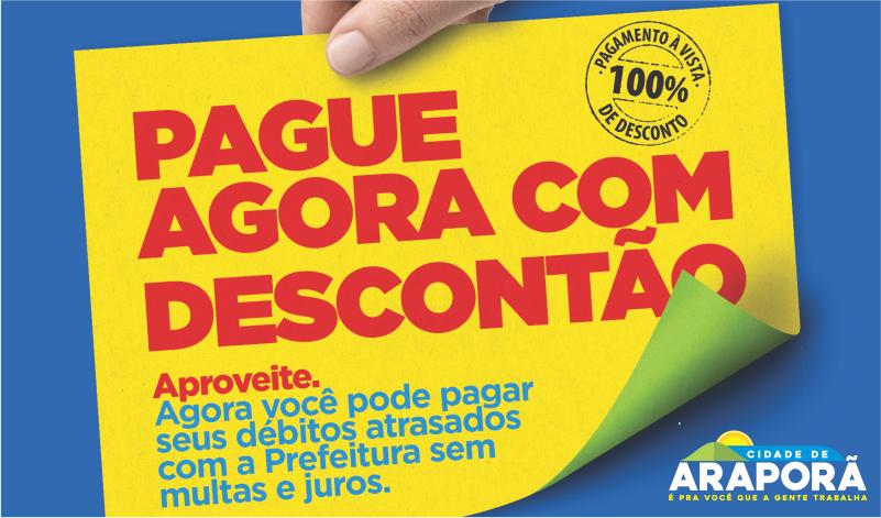 Imagem destaque notícia NEGOCIAÇÃO DE DÉBITOS MUNICIPAIS ACABA HOJE (30)