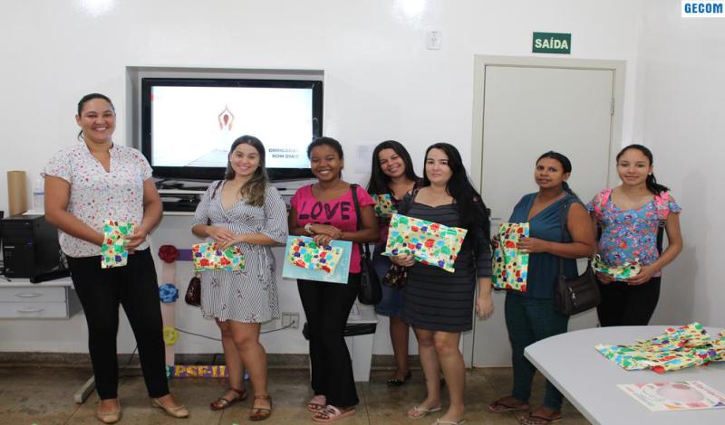 Imagem destaque notícia PSF 3 DISCUTE COM GESTANTES RISCOS DO CÂNCER DE MAMA NA GRAVIDEZ
