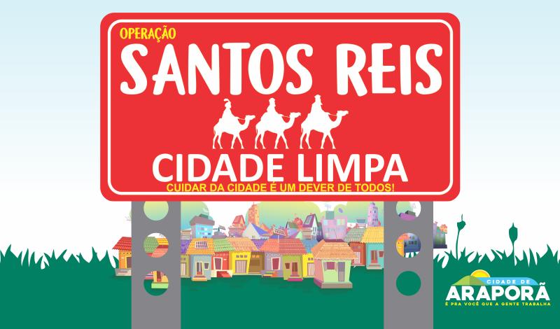 Imagem destaque notícia MEGA OPERAÇÃO SANTOS REIS – CIDADE LIMPA