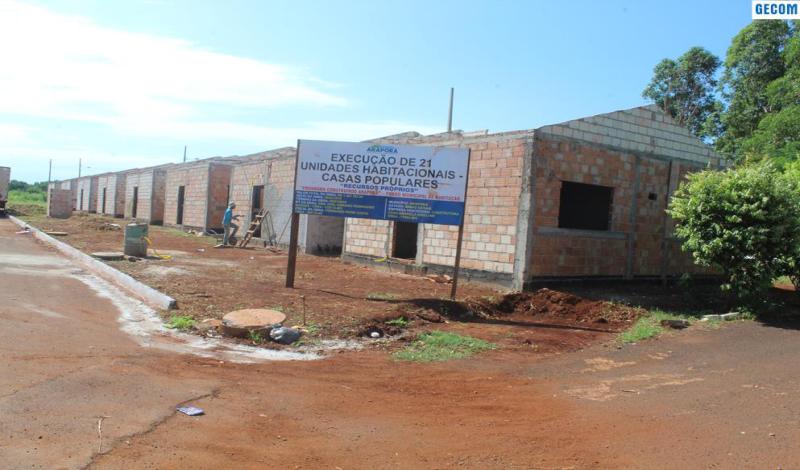 Imagem destaque notícia PREFEITURA INTENSIFICA CONSTRUÇÃO DE NOVAS CASAS POPULARES