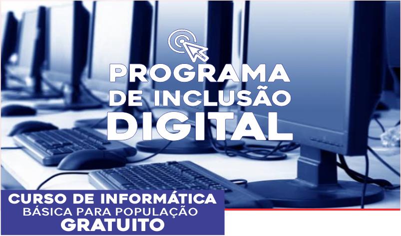 Imagem destaque notícia PREFEITURA OFERECE CURSO DE INFORMÁTICA GRATUITO