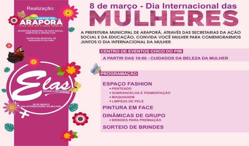 Imagem destaque notícia DIA INTERNACIONAL DA MULHER TERÁ PROGRAMAÇÃO ESPECIAL NA NOITE DE SEXTA-FEIRA