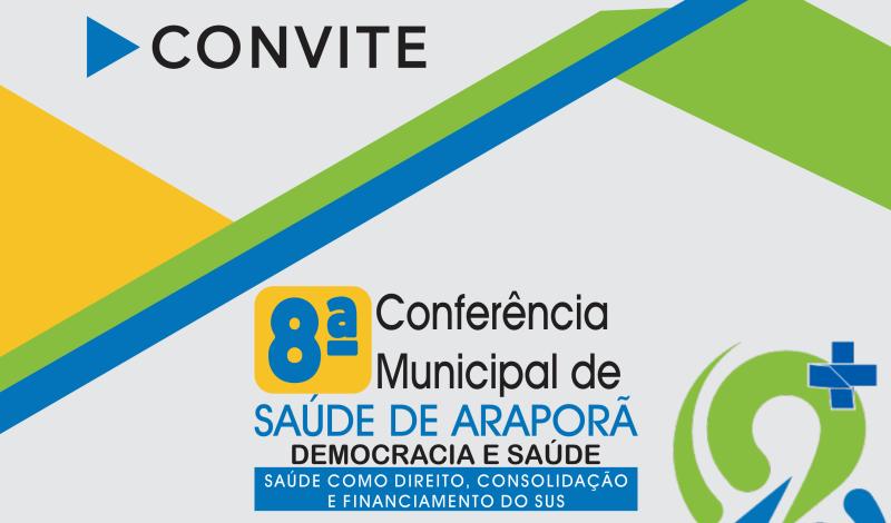 Imagem destaque notícia ARAPORÃ DISCUTE COM COMUNIDADE PROPOSTAS PARA A CONFERÊNCIA MUNICIPAL DE SAÚDE