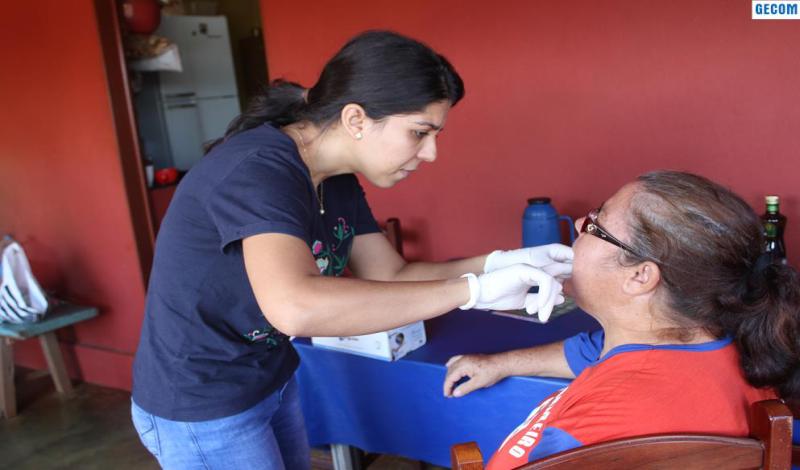 Imagem destaque notícia EQUIPE TÉCNICA DA SAÚDE LEVA ATENDIMENTO À ZONA RURAL DE ARAPORÃ