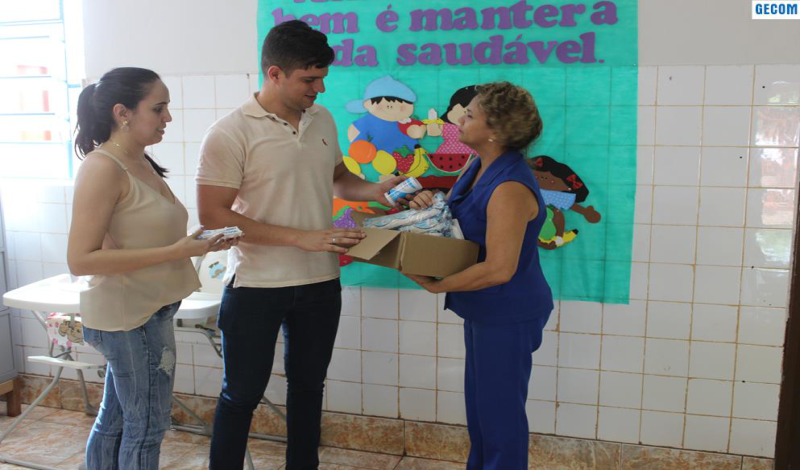 Imagem destaque notícia SAÚDE ENTREGA KIT DE PRIMEIROS SOCORROS NAS ESCOLAS