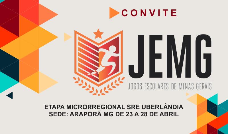 Imagem destaque notícia JEMG ABRIRÁ PROGRAMAÇÃO FESTIVA DO ANIVERSÁRIO DE ARAPORÃ