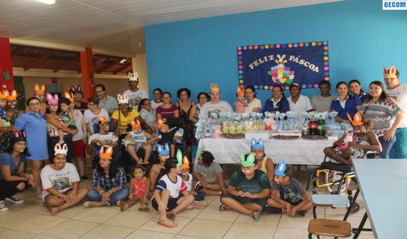 Imagem destaque notícia ESCOLA NASCER DO SOL E PARCEIROS COMEMORA SEMANA DE PÁSCOA COM ALUNOS