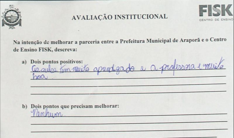 Imagem destaque notícia PAIS AVALIAM POSITIVAMENTE CURSO DE INGLÊS ADOTADO PELA PREFEITURA