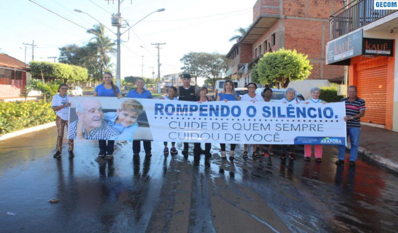 Imagem destaque notícia ARAPORÃ REALIZA CAMPANHA DE ENFRENTAMENTO A VIOLÊNCIA CONTRA A PESSOA IDOSA