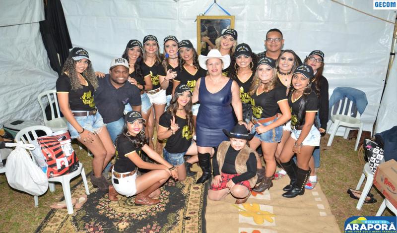 Imagem destaque notícia Concurso elege rainha e princesas da Festa do Peão de Boiadeiro de Araporã