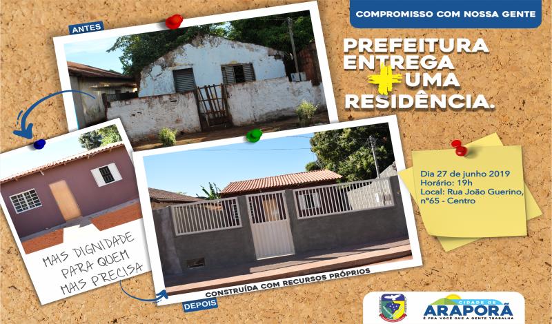 Imagem destaque notícia O PROJETO CONSTRUINDO ARAPORÃ NÃO PARA