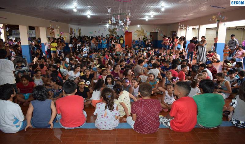 Imagem destaque notícia TERCEIRO DIA DA 4ª COLÔNIA DE FÉRIAS