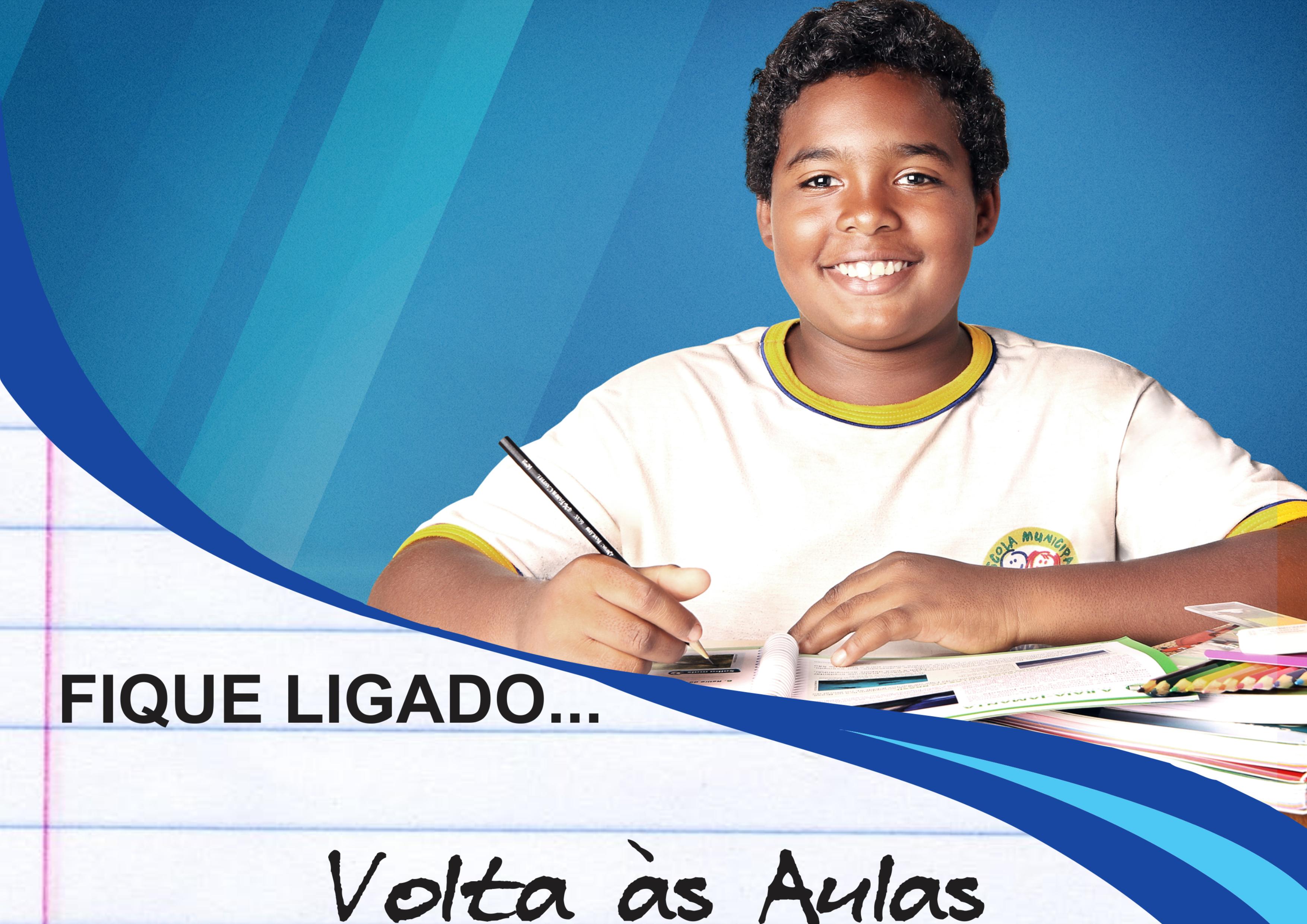 Imagem destaque notícia VOLTA ÀS AULAS - MAIS DE MIL ALUNOS RETORNARÃO ÀS SALAS DE AULA NESTA QUINTA-FEIRA