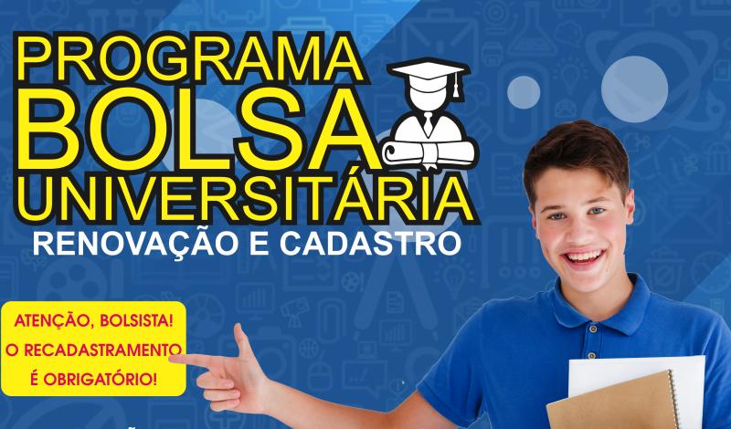 Imagem destaque notícia PREFEITURA ABRE PROCESSO PARA NOVOS CADASTROS E RENOVAÇÃO DA BOLSA UNIVERSITÁRIA