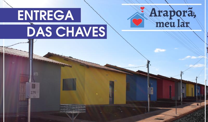 Imagem destaque notícia PREFEITURA ENTREGA NESTA SEXTA-FEIRA MAIS 13 UNIDADES HABITACIONAIS