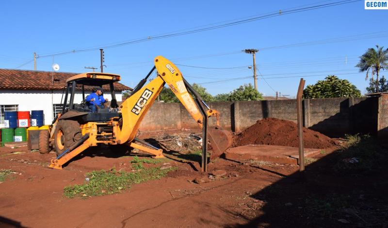 Imagem destaque notícia PREFEITURA INICIA CONSTRUÇÃO DA NOVA SEDE PARA A SECRETARIA DE MEIO AMBIENTE