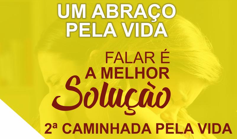 Imagem destaque notícia SAÚDE ABRAÇA CAMPANHA DE PREVENÇÃO AO SUICÍDIO
