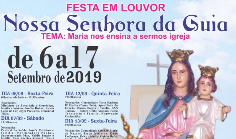 Imagem destaque notícia FESTA EM LOUVOR A NOSSA SENHORA DA GUIA