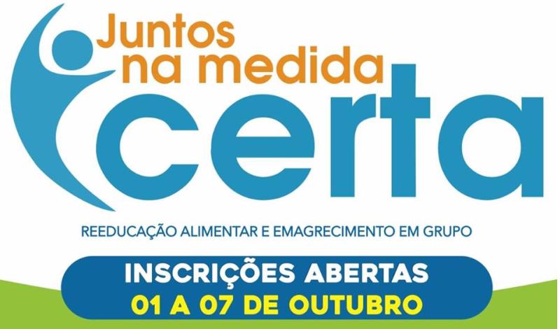 Imagem destaque notícia PROGRAMA JUNTOS NA MEDIDA CERTA