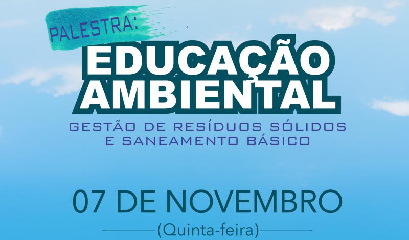 Imagem destaque notícia PROGRAMA DE EDUCAÇÃO AMBIENTAL EM ARAPORÃ