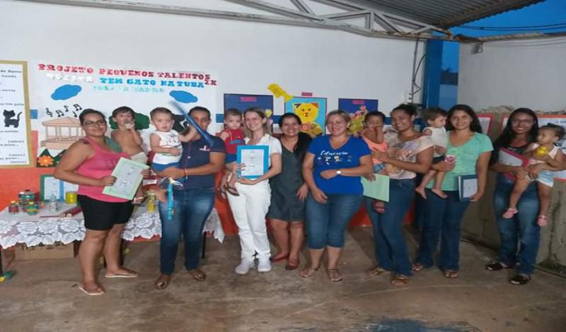 Imagem destaque notícia CEMEI ANTÔNIO RABELO REALIZA HOJE APRESENTAÇÃO DO PROJETO PEQUENOS TALENTOS