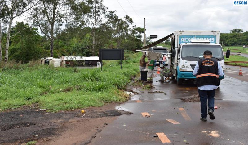 Imagem destaque notícia DEFESA CIVIL DE ARAPORÃ AUXILIA E EVITA ACIDENTE AMBIENTAL