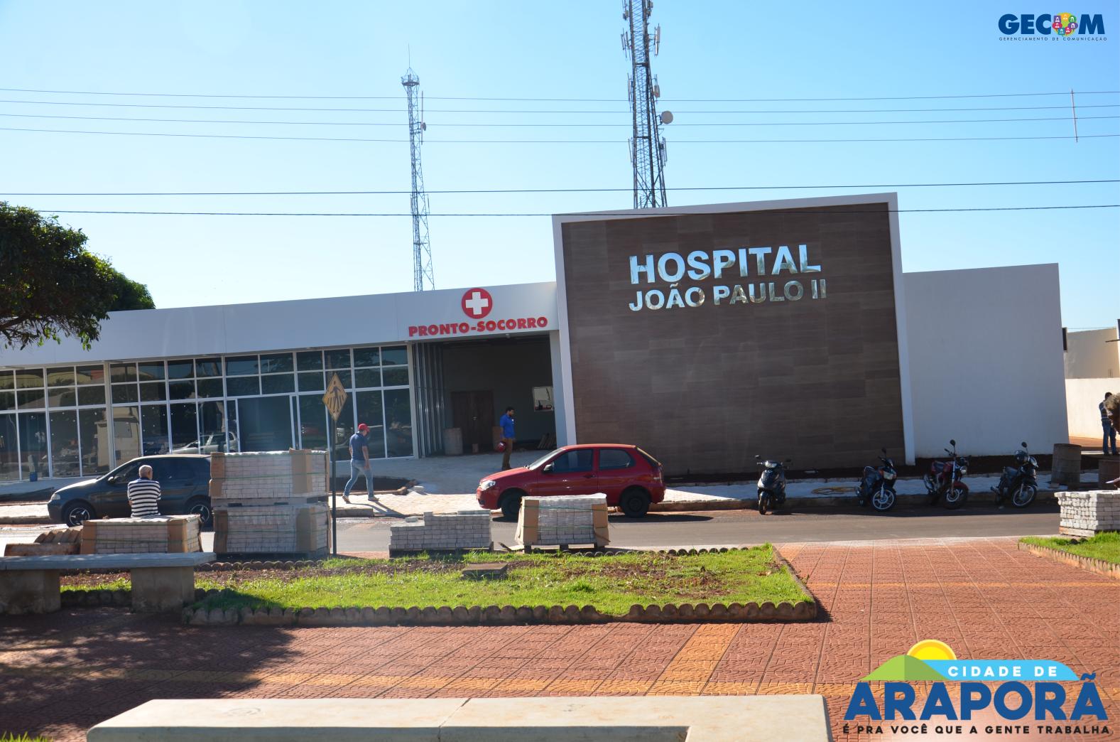 Imagem destaque notícia Prefeitura acelera obras do Hospital João Paulo II