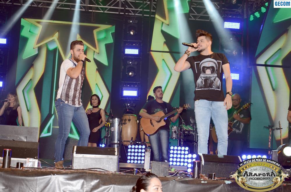 Imagem destaque notícia Festa do Peão de Boiadeiro chega ao fim com a premiação do rodeio e mega show de Zé Neto e Cristiano