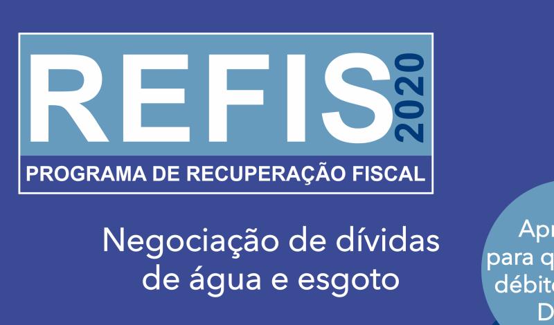 Imagem destaque notícia PREFEITURA E DMAE LANÇAM CAMPANHA DE REGULARIZAÇÃO DO REFIS DE ÁGUA E ESGOTO