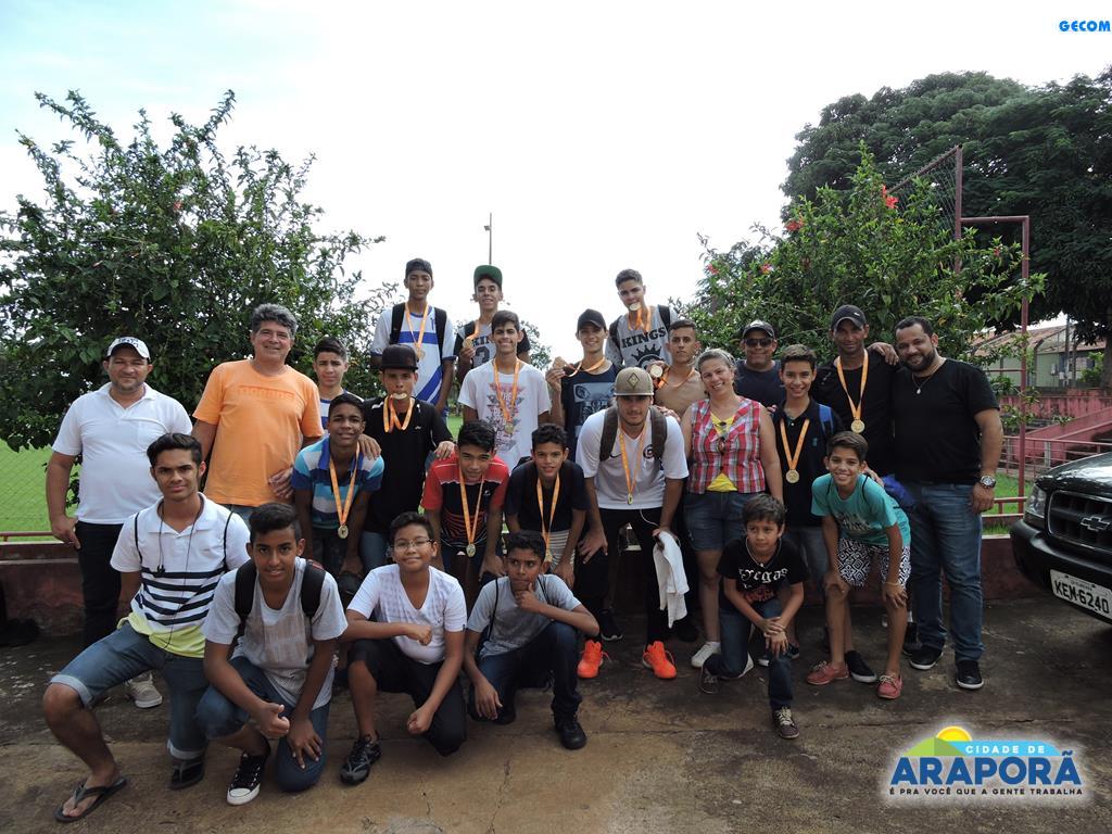 Imagem destaque notícia Equipe de Araporã é destaque nos Jogos Escolares de Minas Gerais