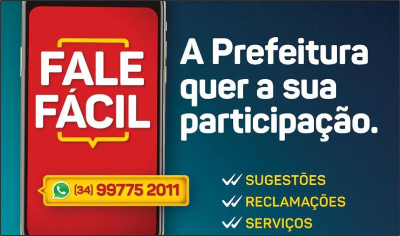Imagem destaque notícia FALE FÁCIL – FERRAMENTA DE COMUNICAÇÃO EFETIVA DA PREFEITURA