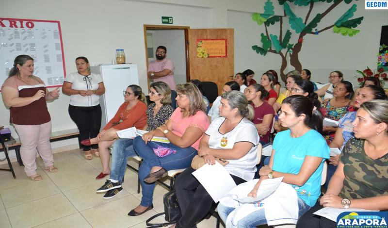 Imagem destaque notícia Professores participam de encontro do Programa Alfabetização em Foco