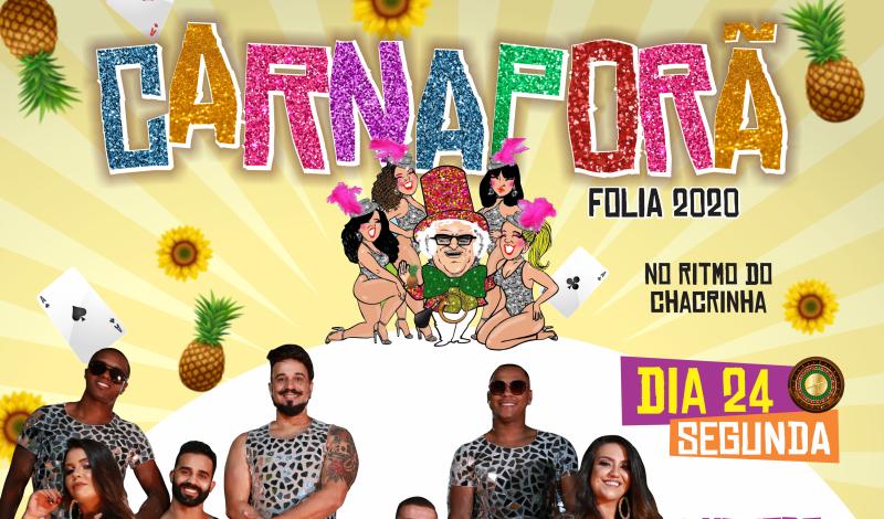 Imagem destaque notícia CARNAPORÃ FOLIA 2020 - BANDA SANTA TEREZA É A ATRAÇÃO DESTA NOITE