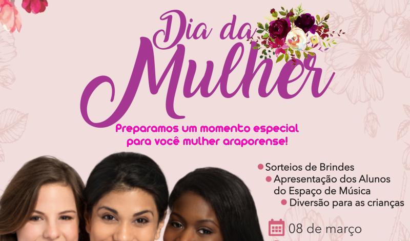 Imagem destaque notícia DIA DAS MULHERES SERÁ COMEMORADO NO LAGO DO BEM VIVER