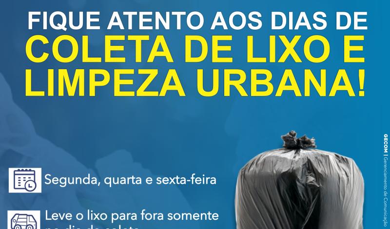 Imagem destaque notícia COLETA DE LIXO SOFRE ALTERAÇÃO DEVIDO À PANDEMIA DO COVID-19