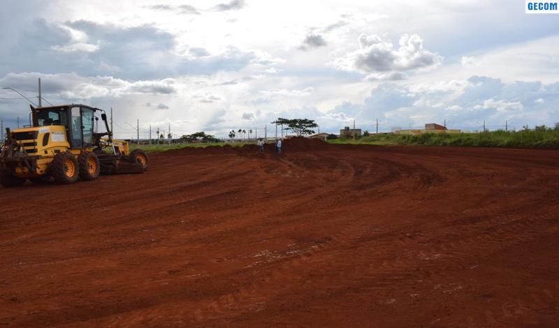 Imagem destaque notícia PREFEITURA DE ARAPORÃ INICIA CONSTRUÇÃO DE NOVO CEMEI