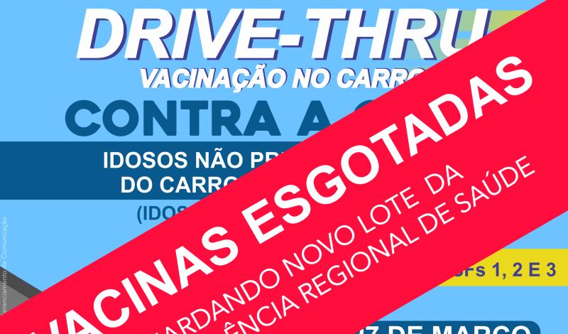 Imagem destaque notícia ESGOTADAS AS DOSES DE VACINA CONTRA INFLUENZA