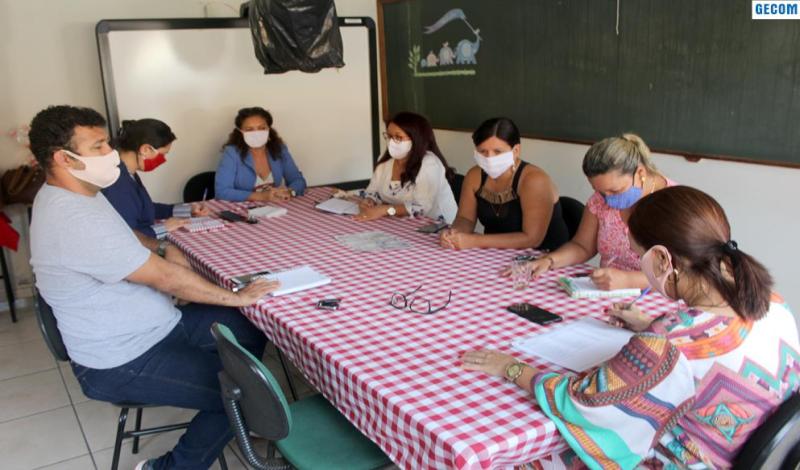 Imagem destaque notícia EDUCAÇÃO AVALIA MEDIDAS DE ENFRENTAMENTO À COVID 19 NA REDE DE ENSINO