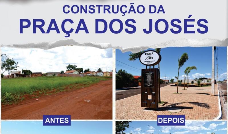 Imagem destaque notícia ANTES E DEPOIS DA PRAÇA DOS JOSÉS