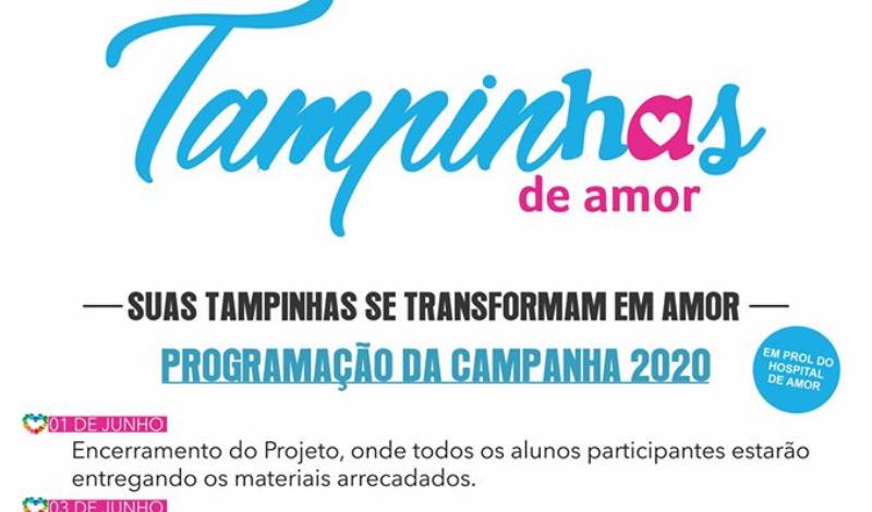 Imagem destaque notícia CAMPANHA PARA A ARRECADAÇÃO DE TAMPINHAS TERMINA DIA 01 DE JUNHO