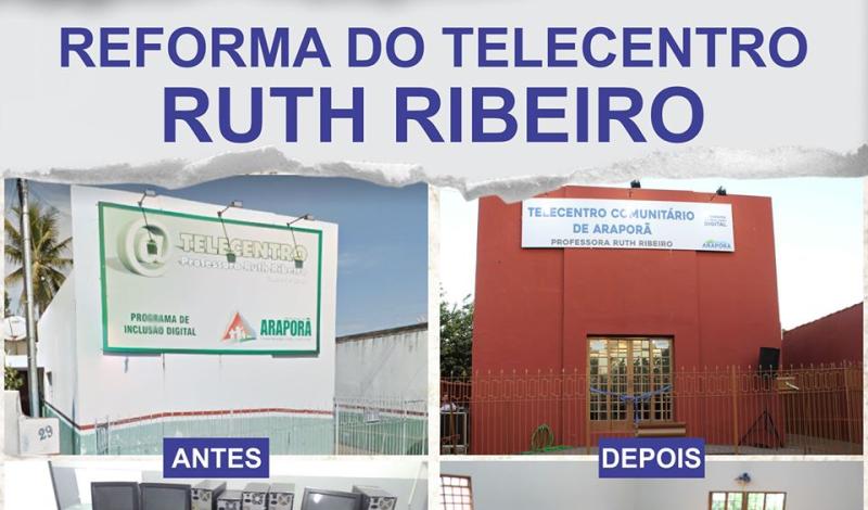 Imagem destaque notícia ANTES E DEPOIS DO TELECENTRO RUTH RIBEIRO