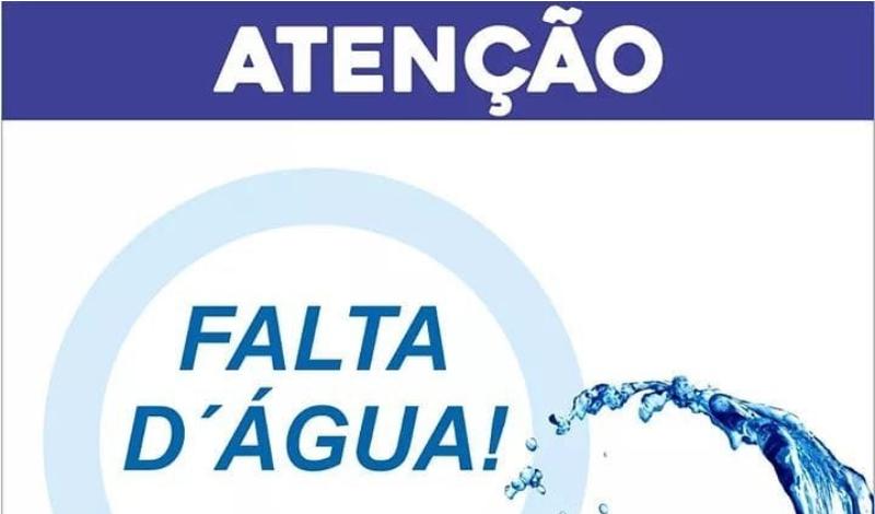 Imagem destaque notícia FALTA D'ÁGUA - MANUTENÇÃO EM REDE DE DISTRIBUIÇÃO