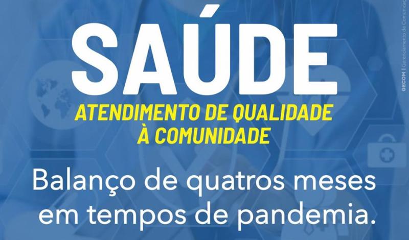 Imagem destaque notícia SAÚDE MUDA PROTOCOLOS, MAS GARANTE ATENDIMENTO DE QUALIDADE À COMUNIDADE